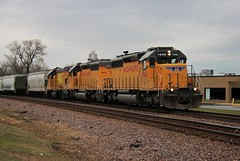 Double PR (BravoDelta1999) Tags: unionpacific up railroad chicagoandnorthwestern cnw railway milwaukeesubdivision newline desplaines illinois emd sd40n 1948 1972 gp151 upy 710 mprpr manifest train