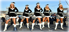 2017 Oakland Raiderettes at Raiderville (billypoonphotos) Tags: christmas holiday 2017 oakland raiderettes raiderette raiders raider nation raidernation nfl football fabulous females cheerleaders cheerleading dance dancers nikon nikkor d5500 mm lens billypoon billypoonphotos silver black photo picture photographer photography pretty girls ladies women squad team people coliseum sport 18140mm 18140 raiderville shaniah angel rachel julie kindra sky road