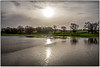 Reflections of the Old Year (1) (Peter Leigh50) Tags: landscape floods countryside rural leicestershire farmland sunshine reflection reflections water wistow trees sky clouds fuji fujifilm xt10 happy new year 2018