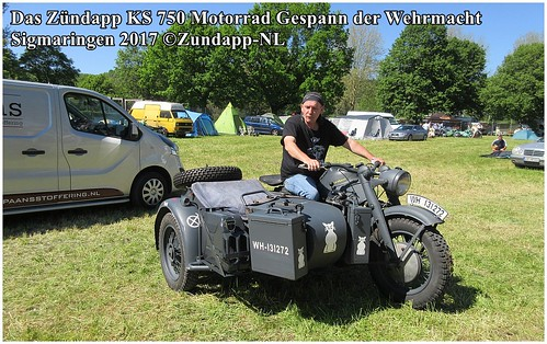 2017 Das Zundapp KS750 Motorrad Gespann Der Wehrmacht