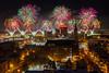 La grande finale (375e anniversaire de Montréal) (Benoit Z Leroux) Tags: 375 375e 375mtl 375eanniversaire 375emontréal mtl375 feuxdartifices fireworks pont pontjacquescartier montréal québec longueexposition longueexposure molson parcjeandrapeau ronde laronde momentfactory gfa gfapyrotechnie gfafireworks