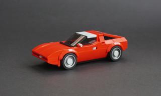 Lego 1971 Maserati Bora - 01