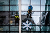 Star Destroyers (Sean Batten) Tags: london england unitedkingdom gb cityoflondon window reflection nikon d800 70200 star city urban people streetphotography street