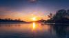 Sonnenuntergang am Aasee (Rainer Albrecht) Tags: aasee sonne münster sun sonnenuntergang sunset