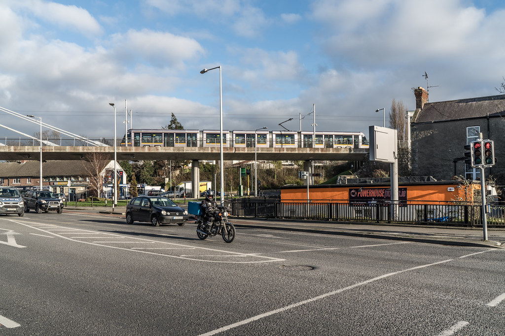 THE WILLIAM DARGAN BRIDGE IN DUNDRUM [LUAS GREEN LINE TRAM STOP DUNDRUM]-135147