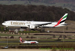 A6-ENX (David Unsworth (davidu)) Tags: ek uae unitedarabemirates a6enx emirates boeing77731her boeing777300 boeing777 boeing b777 outdoor sky skyshot widebody glasgowairport glasgowinternationalairport glasgowinternational internationalairport gla egpf abbotsinch baaglasgow scotland uk glasgow paisley aviation air aircraft jet davidu davidunsworth plane airplane airliner jetliner flight flying airport airfield approach daviduair aviationphotography aviationphotographer