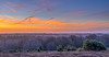 View To The Island (nicklucas2) Tags: landscape newforest panorama isleofwight forest tree cloud dawn contrail