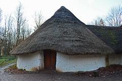 Iron Age hut recreation : Explored (cmw_1965) Tags: thatch thatched iron age hut farmstead st fagans bryn eryr ancient whitewashed wattle daub clay cardiff wales cymru