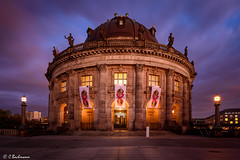 Bode Museum in Berlin (Germany) (bachmann_chr) Tags: berlin bode museum deutschland landschaft landscape germany sightseeing nikon nikkor d750 vollformat full frame blaue stunde blue hour sunset sonnenuntergang