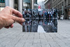 1983 (explored) (.niraw) Tags: köln fusgängerzone bildimbild hand foto gewitter strasenfotografie pfütze spiegelung menschen niraw regenschirm zeppelinstrase wasser ruhe insel leere leer illusion