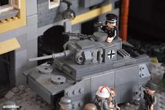 Panzer III - Italy, 1943 (lucasphilippini) Tags: lego military army war ww2 wwii worldwar2 worldwarii panzer germany soldiers