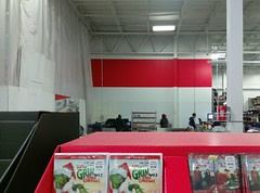Welcome to the new Southaven Sam's Club café seating area (or at least it's back wall)! (l_dawg2000) Tags: 2017remodel apparel café desotocounty electronics food gasstation meats mississippi ms pharmacy photocenter remodel samsclub southaven tires walmart wholesaleclub unitedstates usa