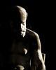 Philosophie (MARTIN DEDRON) Tags: sculpture art arts contrast clair obscur clairobscur lowkey low key dark black white pale minimal aesthetic simple shadows noir