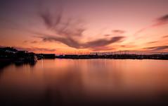 A Dragons Flight (ajecaldwell11) Tags: xe3 sunset ankh purple water buildings boats fujifilm light longexposure tide silhouette napier ahuriri sky clouds hawkesbay caldwell newzealand dusk