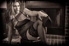 _DSC6778BW (Jay6099) Tags: sexy dress nylons stockings heels high legs leg long new years