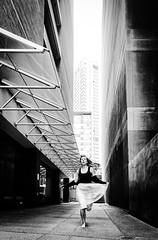 The Urban Cinderella (doubleshotblog) Tags: theurbancinderella australia deserted blackandwhite selfie orphan christmasday northsydney sydney streets city urban cinderella