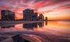 Coronado Beach (eramos_ca) Tags: sunrise coronado sandiego reflection
