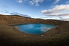 Into the blue (crowfoto) Tags: iceland blue crater viti clouds