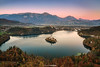 Autum in Bled (Antoni Figueras) Tags: bled slovenia lake osojonica sunset autum church europe sonya7rii sony1635f4 mala osojnica malaosojnica viewpoint