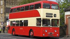 Preserved Huddersfield Coporation KVH 473E 473 (WY Bus Spotter) Tags: preserved huddersfield coporation kvh473e 473 west yorkshire bus spotter wybs kbmt keighley museum trust saledine nook marsh rod smallwood daimler fleetline roe