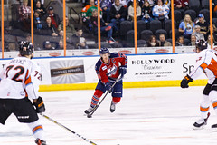 "Kansas City Mavericks vs. Kalamazoo Wings, January 5, 2018, Silverstein Eye Centers Arena, Independence, Missouri.  Photo: © John Howe / Howe Creative Photography, all rights reserved 2018. • <a style=""font-size:0.8em;"" href=""http://www.flickr.com/photos/134016632@N02/38681938565/"" target=""_blank"">View on Flickr</a>"
