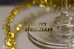 """Happy New Year 2018!"" -""Sunday Lights"" (Karon Elliott Edleson) Tags: bestwishes happynewyear glitter wine champagne macro text 7dwf mondaysfreechoice sundaylights happynewyear2018"