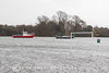 HIGH TIDE! (mark_rutley) Tags: fareham farehamcreek flood hampshire springtides weather tide creek boats marina goal football