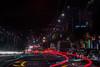 at the foot of mission street (pbo31) Tags: bayarea california nikon d810 color dark night black boury pbo31 lightstream motion winter infinity roadway traffic dalycity sanmateocounty streetlights missionstreet motionblur red