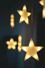 The real stars (mripp) Tags: art vintage retro old minimal einfach sterne stars winter yellow bokeh leica m10 summilux 50mm