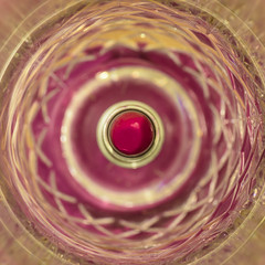 Red Vortex. (Zahidur Rahman ( Will be back soon )) Tags: stick lipstick macro vortex macromondays details vase flowervase topshot pattern shapes glass plastic metal indoor dhaka bangladesh mac new creative fashion cosmetics chemicals red pink yellow shades reflection light nikond810 105mmnikkor nopeople object round rings
