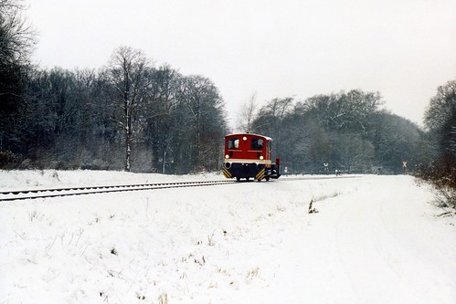 Köf D1 in Bad Bentheim op 28-12-2000 (SCAN)