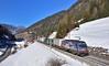 "ÖBB 1216 019 ""Achensee"" Wolf am Brenner (tobias.unsin) Tags: alps austria sunshine snow train railway rail railroad öbb locomotive lok logistik landschaft winter"