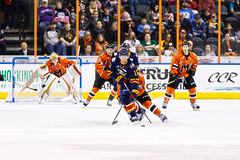 """Kansas City Mavericks vs. Colorado Eagles, December 16, 2017, Silverstein Eye Centers Arena, Independence, Missouri.  Photo: © John Howe / Howe Creative Photography, all rights reserved 2017. • <a style=""""font-size:0.8em;"""" href=""""http://www.flickr.com/photos/134016632@N02/39106610722/"""" target=""""_blank"""">View on Flickr</a>"""