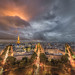 Dramatic View of Paris