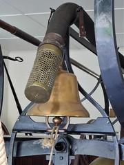 """Naperville, IL, Naper Settlement, Firehouse, 1870's, Fire """"Engine"""" Detail (Mary Warren 9.6+ Million Views) Tags: napervilleil napervillesettlement historic firehouse fireengine pumper metal brass bell"""