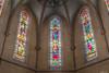 Les vitraux de l'église de Saint-Clar (Le dahu) Tags: hdr church color colorful colour colourful light d610 fx 50mm gers stainedglass beautiful art