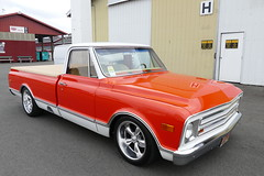 1968 Chevrolet (bballchico) Tags: 1968 chevrolet pickuptruck goodguyspacificnwnationals carshow arnewayreynen