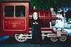 The Train. Again (Bryan.Chihan) Tags: kaonashi noface no face anime cosplay jokes christmas ghibli studioghibli spirited away mask masks singapore a7rii voigtlander sony sonysingapore costume dressup portrait