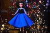 Melody doll (1) (Lindi Dragon) Tags: doll disney disneyprincess disneystore ariel eric mermaid little melody newyear handmade dress blue
