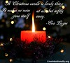 quote-liveintentionally-a-christmas-candle-is-lovely (pdstein007) Tags: quote inspiration inspirationalquote carpediem liveintentionally