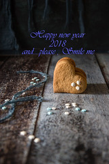 Happy new year 2018 and please SMILE (Patrizia Miceli - Via delle rose) Tags: speculoos spezie natale noel christmas