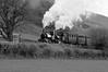 TR 61460bw (kgvuk) Tags: tr talyllynrailway trains railways narrowgaugerailway northwales locomotive steamlocomotive talyllyn 042st dolgoch 040wt