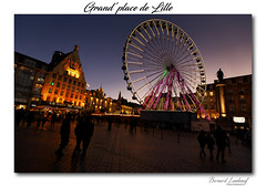 grand'place LILLE (Ben Jpeg) Tags: granderoue place nuit hautdefrance lille