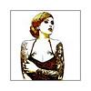 Frida (Jean-Louis DUMAS) Tags: femme woman girl prettywoman prettygirl streetart abstrait tableau fille