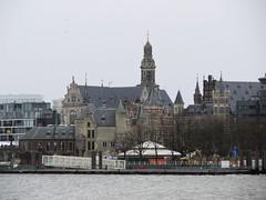 Het Steen en Sint-Pauluskerk, Antwerpen (Stewie1980) Tags: antwerpen anvers antwerp belgië belgique belgien belgium schelde kaai river skyline city het steen sintpauluskerk kerk église saintpaul saint pauls church