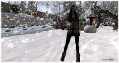 Snowtime (Esme Capelo) Tags: second life sl snow esme capelo