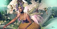Una sola fantasía basta para cambiar un millón de realidades. (Anónimo) (pattybartavelle) Tags: swank event irrisistible shop spring spirit flowxers flowers sl secondlife second life women fantasy clothes