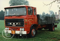 JJA824N ERF B SERIES (Mark Schofield @ JB Schofield) Tags: jim taylor transport road commercial vehicle lorry truck wagon tipper tanker artic eight wheeler haulage contractor bulk haulier tractor unit erfeseries foden4000