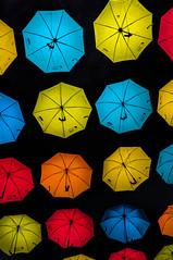 dancing in the....... (Tony Shertila) Tags: europe britain circuseuropebritain england merseyside liverpool churchrd umbrella installment colour contrast unitedkingdom gbr outdoor