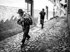 The Potato Farmer (tritranla) Tags: people streetphotography ollantaytambo blackandwhite peru monochrome travel men